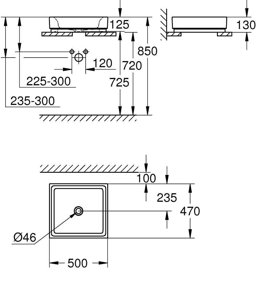 3948100H Dimensions
