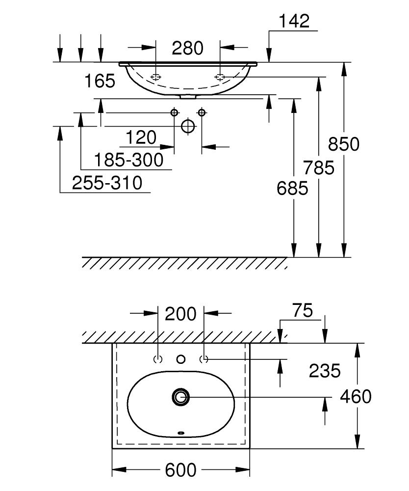 3956800H Dimensions