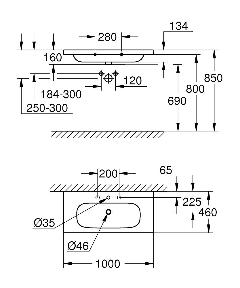 3958500H Dimensions
