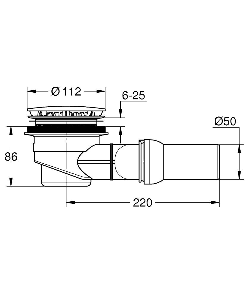 49534SH0 dimensions
